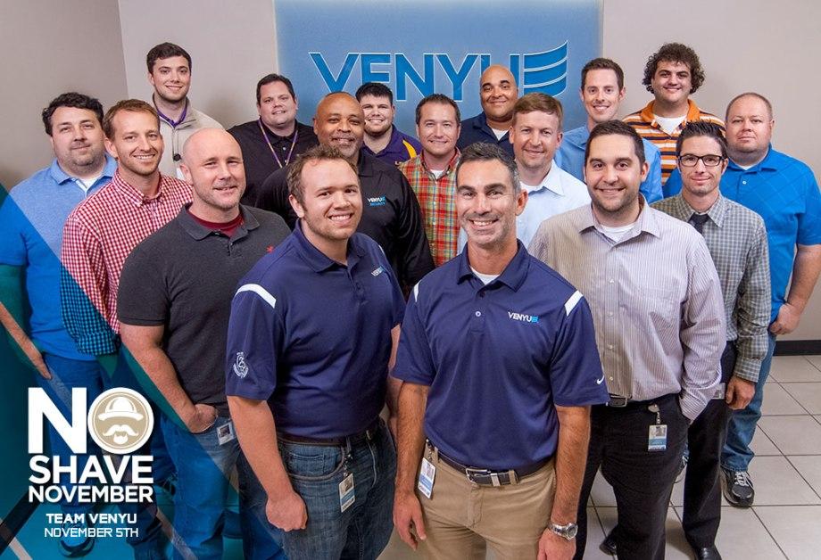 NoShave November - Team Venyuvians Before Picture